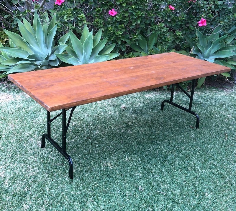 Timber Table Hire
