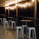 Bar Table and bar stools on verandah