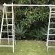 Vintage Ladder Arbour